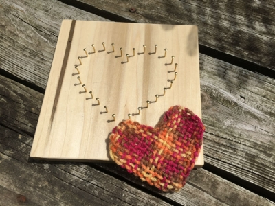 Heart Pin Loom