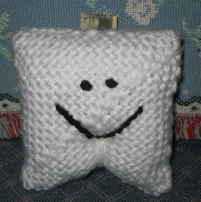 Woven Tooth Fairy Pillow