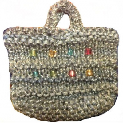 Woven Bottom Party Bag